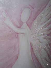 Shimmering Watercolour Angel