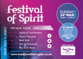 Festival of Spirit, The Muni, Colne, Lancashire MBS Fair 2019