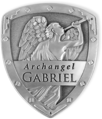 Archangel Gabriel Shield Token Gift